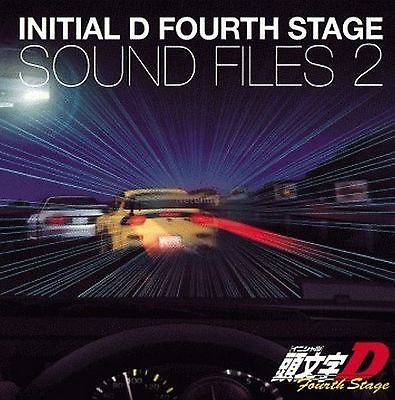 New 0588 INITIAL D FOURTH STAGE SOUND FILES 2 CD Music Original Soundtrack O.S.T