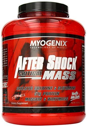 Myogenix Aftershock Critical Mass Vanilla Milk Shake, 5.62 Pounds by Myogenix
