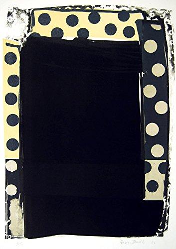 Harvey Daniels Blacks 1964 Original Signed Lithograph Vintage Pop Art