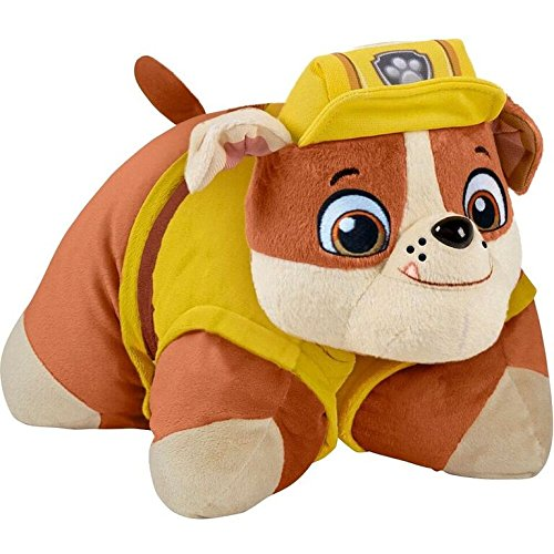 Hyena Dogs Costume For (Nickelodeon Paw Patrol Pillow Pets - Rubble the Construction Bulldog Stuffed Animal Plush)