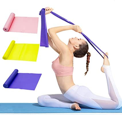 Resistance Bands Loop Exercise Sports Fitness Home Gym Workout Yoga Pilates
