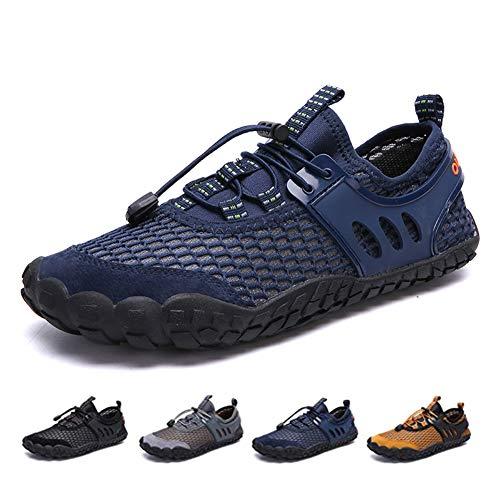 D'eau Sport Yoga Natation Kangle Femmes Running Blue Chaussures Mesh Summer De Nager Mens Snorkeling Aqua Séchage Pour Léger Rapide Plage wpXqxpPU