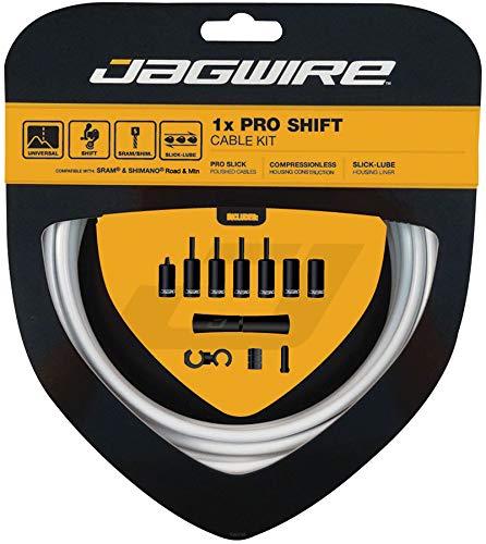 Jagwire 1x Pro Shift Kit Road/Mountain SRAM/Shimano 4mm (White) by Jagwire