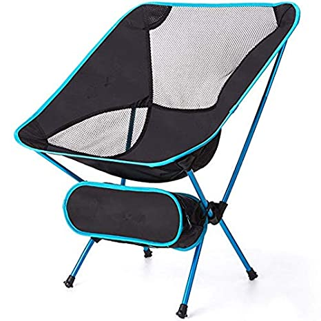 Ultralight Folding Camping Chair Portable Beach Fishing Chair Outdoor Travel Picnic Festival Hiking Backpacking Lightweight Beach Chairs Furniture