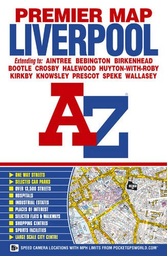 Liverpool Premier Map AZ (A-Z Street Plan)