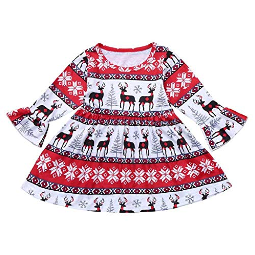 Baby Girl Velvet Dress, Billy Girls Classy Vintage Floral Swing Kids Party Dresses Red from GUTTEAR