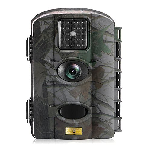 Trail Camera Deer Camera Artitan 12MP Wildlife Hunting Camera Game Camera Motion Activated 65ft Range No Glow IR Lights with 2.4in LCD Screen Waterproof IP65