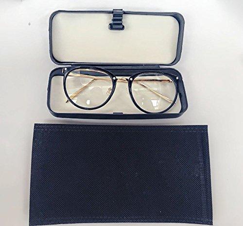 6edb18afd Óculos Feminino Armação Grau Geek Quadrado Vintage Preto Com Haste Dourada:  Amazon.com.br: Ferramentas e Construção