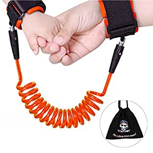 Anti-lost wrist link wristband - safety secure for baby,Including child leashes and bracelets