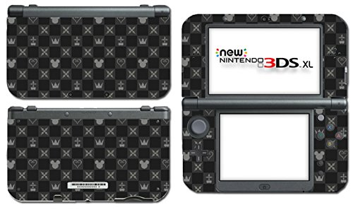 Kingdom Hearts Special Edition HD 1.5 2.5 3 III 3D Dream Drop Distance Sora Mickey Kairi Video Game Vinyl Decal Skin Sticker Cover for the New Nintendo 3DS XL LL 2015 System Console Protector