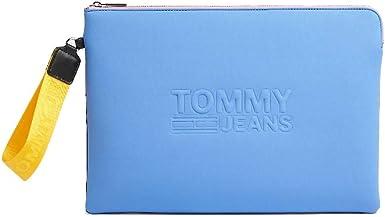 Tommy Hilfiger TJW Texture ordenador Sleeve bolso mujer AW0AW08088 CKU Ultramarine: Amazon.es: Ropa y accesorios