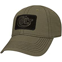 Official Colt Firearms Baseball Cap Olive Drab Green Embroidered Logo Glacier