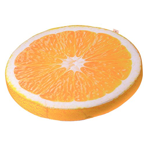 Cheap JJ Store Comfortable Summer Fruit Round Pet Cushion Cat Dog Mat Pet Pad Bed Cover for Small Dogs