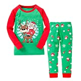 "Kidsmall ""Santa"" Girls Boys Christmas Pajamas Baby Sleepwear Size 2T"