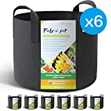 Winner Outfitters 6-Pack 5 Gallon Grow Bags /Aeration - Best Reviews Guide