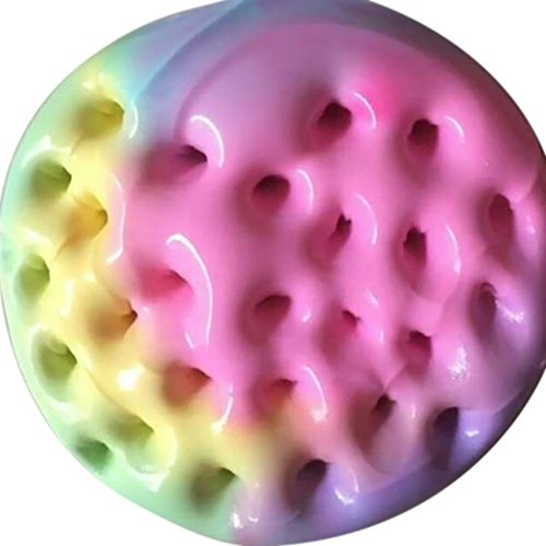 Gbell Color Mixing Cloud Fluffy Slime Butter, Squishy Putty Scented Stress Crystal Clay Toy for Girls Adults, Kids Slime Under 2 Dollars,60ML/100ML (Multicolor 100ML)