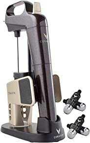 Coravin Limited Edition II Advanced Wine Preservation System and Bottle Opener, Includes 4 Argon Capsules and Display Base,