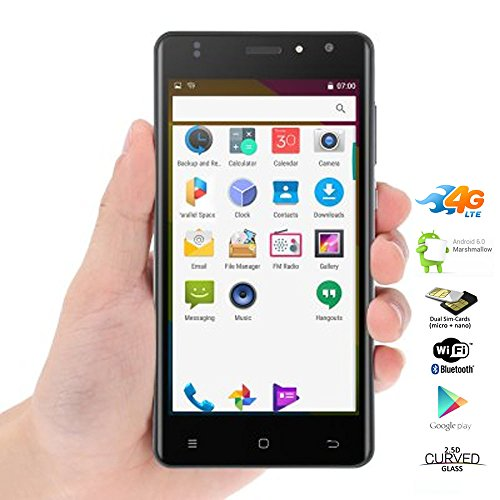 Indigi Ultra Slim 4G LTE SmartPhone Android 6.0 Phablet 5in