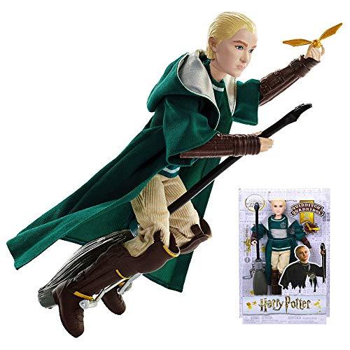 HARRY POTTER Draco Malfoy Quidditch Uniform Doll 10