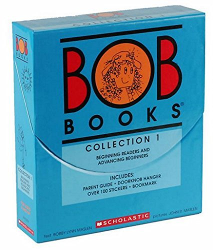 BOB Books COLLECTION 1 Box Set (BEGINNING READER AND ADVANCING BEGINNERS) ()