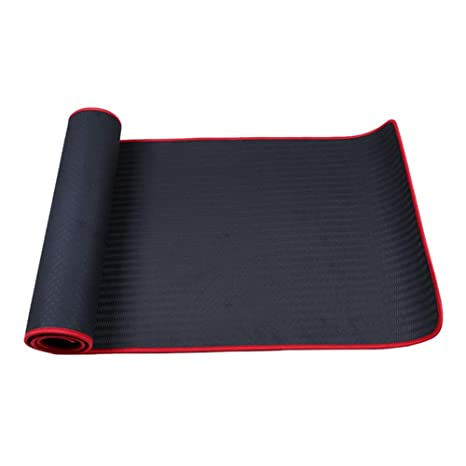 Amazon.com: SKDFFAS Yoga mats TPE Yoga Mat Exercise Wrapping ...