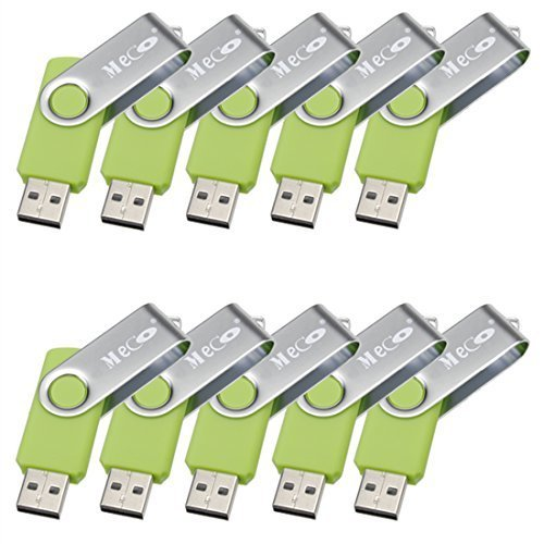 32GB Fold USB 2.0 Flash Memory Stick Pen Drive Thumb Disk Green - 4