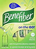Benefiber Taste-Free, Sugar-Free Fiber Supplement Stick Packs for Digestive Health -Greatt Value 5 Pack ( 140 -Count Total)
