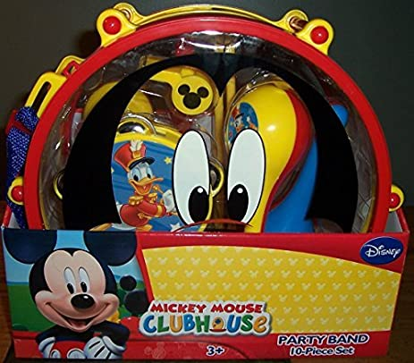 Amazon.com: Disney Mickey Mouse Clubhouse Mickeys Party Band 10 ...