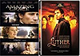 Luther & Amazing Grace DVD Period Piece Movie Set Double feature