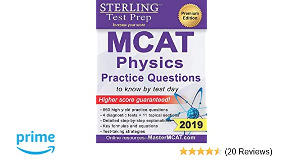 Sterling Test Prep MCAT Physics Practice Questions: High