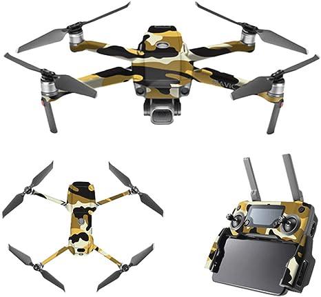 DOGZI Accesorios dji Protector de Cubierta Impermeable para la Piel Calcoman/ías de Drone de Camuflaje Urbano para dji Mavic 2 Pro//Zoom
