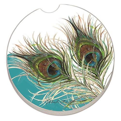 Counter Absorbent Stoneware Coaster Elegant
