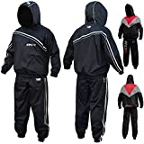 RDX Non Rip MMA Sauna Sweat Suit Track Weight Loss Slimmimg Fitness Gym Exercise Training