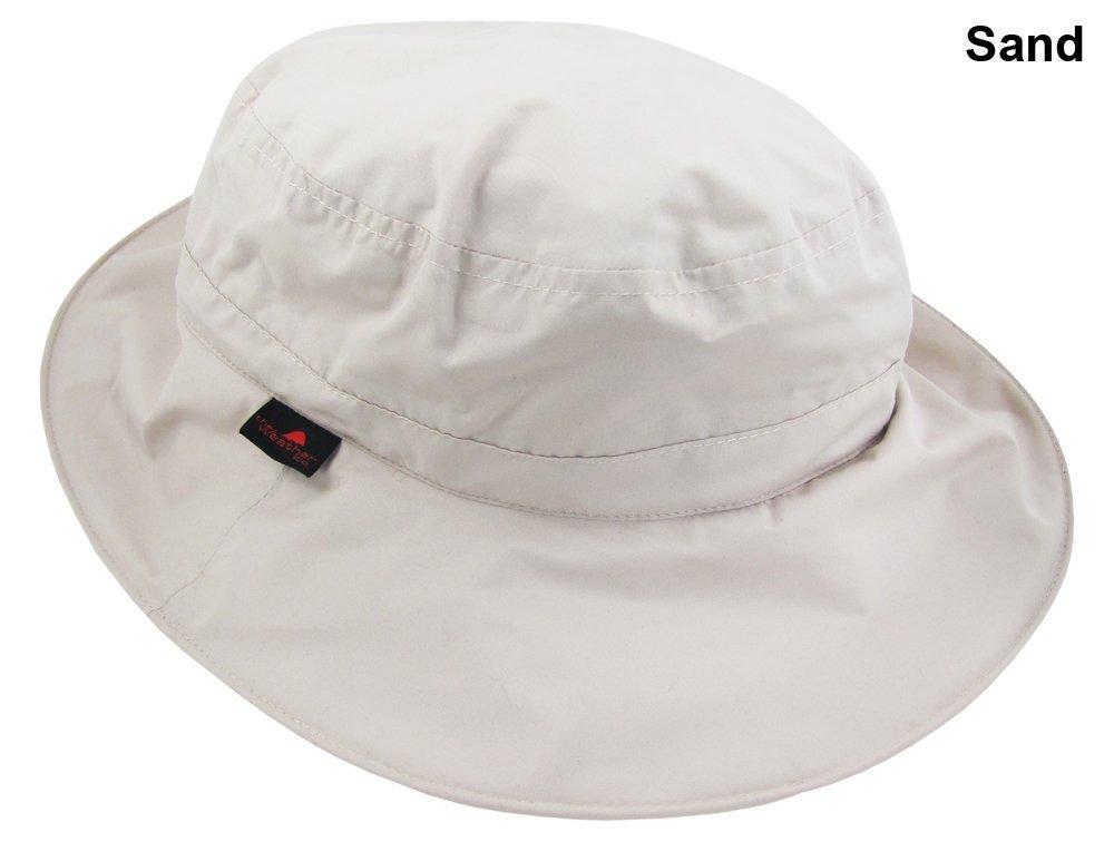 11b2cbb58be4c Amazon.com   The Weather Company Golf- Waterproof Hat beige   Rain Hats    Sports   Outdoors