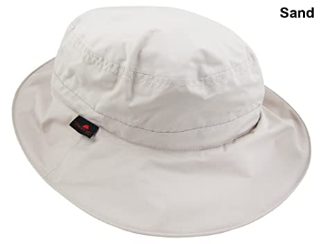 127f3ad7570 Amazon.com   The Weather Company Golf- Waterproof Hat beige   Rain ...