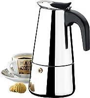 Cafeteira Inox 6 Xicaras 300ml Verona Brinox Aço Inox