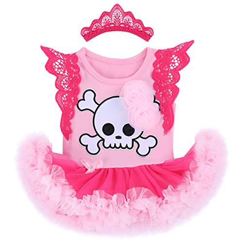 Pink Santa Outfit - Baby Girls 1st Halloween Outfit My