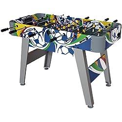 Funmall 4 Ft Soccer Foosball Table