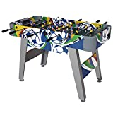 4FT Sport Foosball Table Soccer Football Game Table for Outdoor and Indoor Use