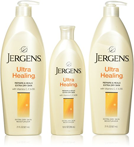 JERGENS (3-pack) Ultra Healing Moisturizer (52 FL OZ) With An Illuminating HYDRALUCENCE BLEND Reveal Beauty Like Never Before - Illuminating Body Moisturizer Lotion