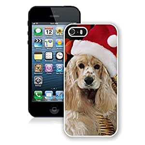 Design for Mass Customization Christmas Long Fur Dog Iphone 5s Case,Phone Case For Iphone 5,Iphone 5 White TPU Cover
