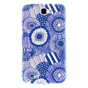 Matte Style Sunflowers Pattern Durable Hard Case for Samsung Galaxy Note 2 N7100