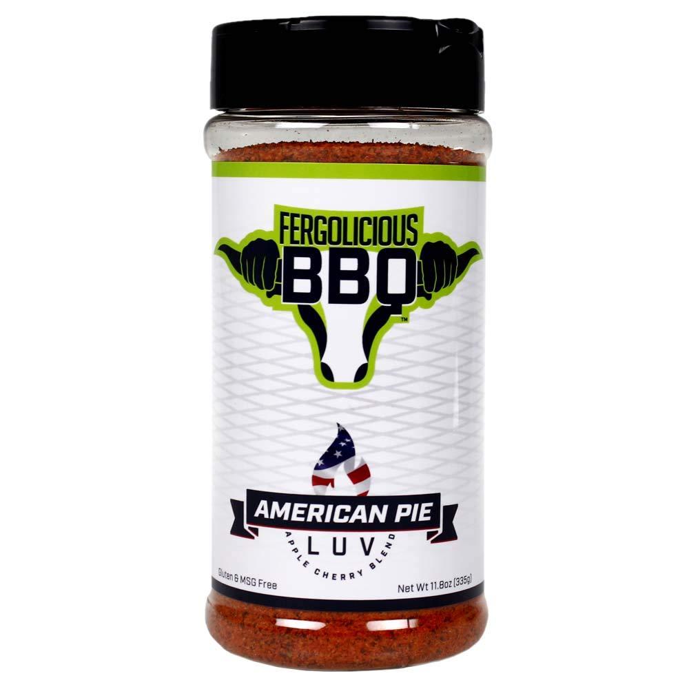 Fergoliciious BBQ - American Pie Luv Rub - Apple Cherry Blend Seasoning - 11.8 oz