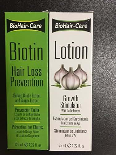 BioHair-Care Biotin Hair Loss Prevention + Growth Simulator Lotion (4.22 oz)