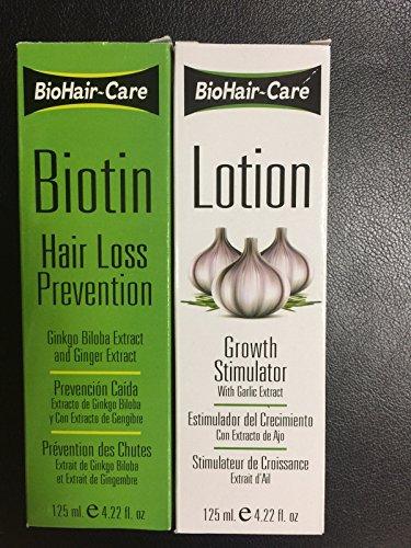 BioHair-Care Biotin Hair Loss Prevention + Growth Simulator Lotion (4.22 oz) ()