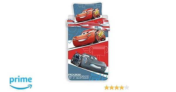 Disney Cars Grey Juego de Cama Funda de edredón Reversible Cama ...
