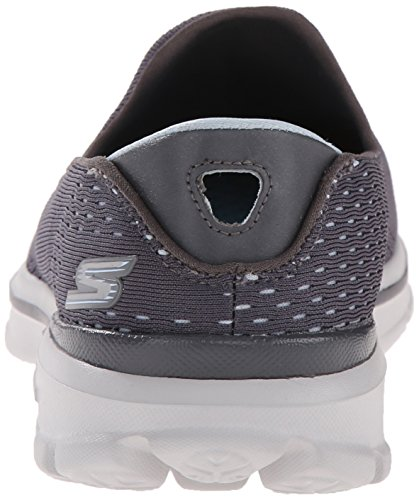32d02690564e ... Rendimiento Skechers para mujer Go Walk 3 zapato Dominar Caminar  Charcoal Blue ...