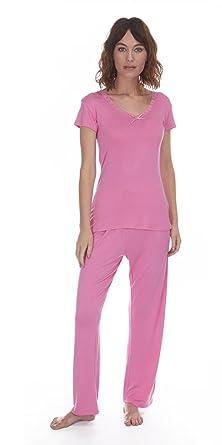 0ab33dde90d0 Ladies Soft Touch T Shirt   Pants Pyjama Set