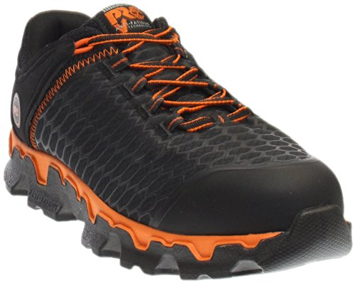 Timberland Pro Men's Powertrain Sport Alloy Toe Eh Industrial and Construction Shoe Black