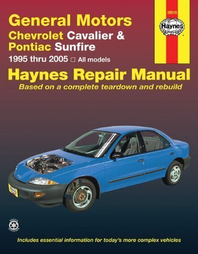 Chevrolet Cavalier & Pontiac Sunfire, 1995-2005 (Haynes Repair Manual) 1st (first) Edition by Haynes (2010)